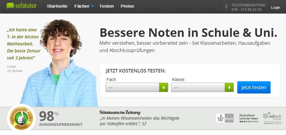 瞄准德语市场的在线视频课程交易平台Sofatutor融资350万欧元